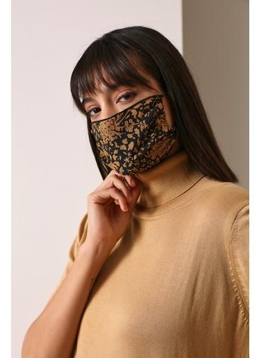 Gusto Kadın Sarı Viskon Maske 21K5372100 Hardal